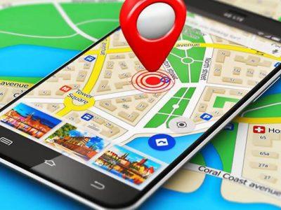 Localize-se com o Google Maps