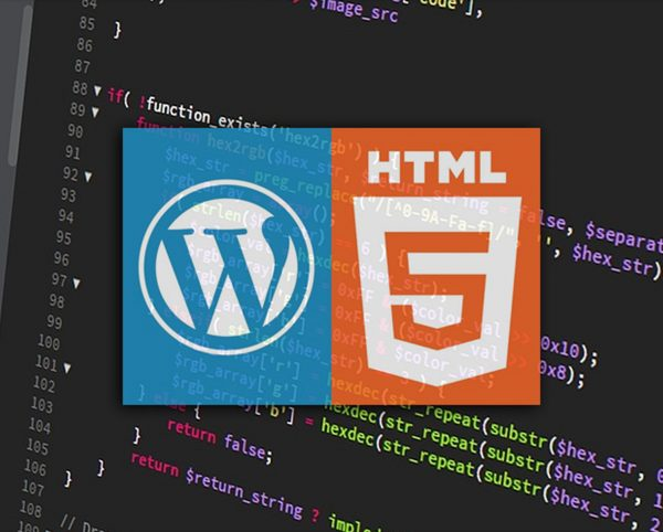 html5 x wordpress